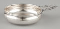 Silver Holloware, American:Bowls, AN AMERICAN SILVER PORRINGER WITH PIERCED HANDLE. GorhamManufacturing Co., Providence, Rhode Island, circa 1915. Marks:G...
