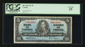 Canadian Currency: , BC-23b $5 1937. ...