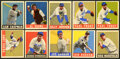 Baseball Cards:Lots, 1948-49 Leaf Baseball Collection (53). ...