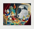 Original Comic Art:Miscellaneous, Carl Barks In the Cave of Ali Baba Lithograph Print #77/595(Another Rainbow, 1997)....