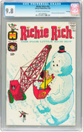 Silver Age (1956-1969):Humor, Richie Rich #55 File Copy (Harvey, 1967) CGC NM/MT 9.8 Off-white to white pages....