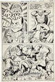 Jack Kirby and Vince Colletta Superman's Pal Jimmy Olsen #139 page 17 Original Art (DC, 1971)
