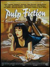 "Pulp Fiction (BAC, 1994). French Grande (45.5"" X 62""). Crime"