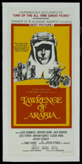 "Movie Posters:Academy Award Winner, Lawrence of Arabia (Columbia, 1962). Australian Daybill (13"" X 30""). Academy Award Winner. ..."