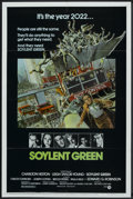 "Movie Posters:Science Fiction, Soylent Green (MGM, 1973). One Sheet (27"" X 41""). Science Fiction...."