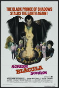 "Movie Posters:Blaxploitation, Scream Blacula Scream (MGM, 1973). One Sheet (27"" X 41""). Blaxploitation. Starring William Marshall, Don Mitchell, Pam Grier..."