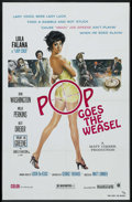 "Movie Posters:Blaxploitation, Pop Goes the Weasel (Moonstone Entertainment, 1975). One Sheet (27"" X 41""). Blaxploitation...."
