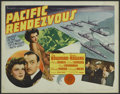 "Movie Posters:War, Pacific Rendezvous (MGM, 1942). Half Sheet (22"" X 28""). War. ..."