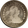 Early Quarters: , 1796 25C VG8 NGC. B-2a, R.3. Late dies with heavy breaks throughthe ERTY in LIBERTY. This late die state is rare, and was ...