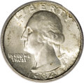 Washington Quarters: , 1934 25C Doubled Die Obverse MS65 PCGS. FS-025-1934-101. PreviouslyFS-009. This well known Guide Book variety features...