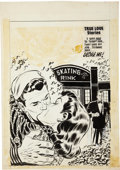 Original Comic Art:Covers, Lee Elias First Love Illustrated #35 Cover Original Art(Harvey, 1953)....