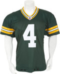 Football Collectibles:Uniforms, 2003 Brett Favre Game Worn Green Bay Packers Jersey - Used 10/5/2003 vs. Seahawks....