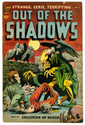 Golden Age (1938-1955):Horror, Out Of The Shadows #6 (Standard, 1952) Condition: GD....