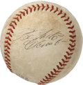 Autographs:Baseballs, 1960's Roberto Clemente Single Signed Baseball....