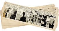 Wilson McCoy The Phantom Daily Comic Strip Original Art Group (King Features Syndicate, 1955).... (Total: 27 Items)