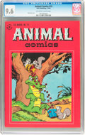 Golden Age (1938-1955):Funny Animal, Animal Comics #19 (Dell, 1946) CGC NM+ 9.6 Off-white to whitepages....