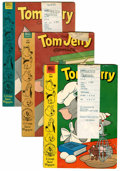 Golden Age (1938-1955):Cartoon Character, Tom and Jerry File Copies Group (Dell, 1953-74) Condition: AverageVG.... (Total: 7 Comic Books)