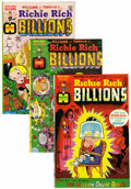 Bronze Age (1970-1979):Cartoon Character, Richie Rich Billions File Copies Group (Harvey, 1974-82) Condition:Average VF/NM.... (Total: 45 Comic Books)
