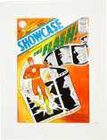 Original Comic Art:Covers, Carmine Infantino Showcase #4 The Flash Cover RecreationOriginal Art (1994)....