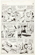Original Comic Art:Panel Pages, Jack Kirby and Vince Colletta Fantastic Four #41 Page 5Original Art (Marvel, 1965)....