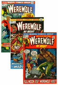Bronze Age (1970-1979):Horror, Werewolf by Night Group (Marvel, 1972-74) Condition: AverageVF/NM.... (Total: 17 Comic Books)