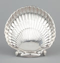 Silver Holloware, American:Bowls, AN AMERICAN SILVER SHELL-FORM DISH . Gorham Manufacturing Co.,Providence, Rhode Island, 1976. Marks: Gorham, STERLING (...