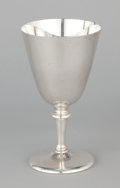 Silver Holloware, American:Water Goblet, A SET OF ELEVEN AMERICAN SILVER GOBLETS . Tuttle Silversmiths,Boston, Massachusetts, circa 1930. Marks: TUTTLE, (logo),...(Total: 11 Items Items)