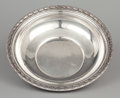 , AN AMERICAN SILVER SERVING BOWL . Gorham Manufacturing Co., Providence, Rhode Island, circa 1910. Marks: GORHAM (lion-an...