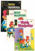Bronze Age (1970-1979):Cartoon Character, Woody Woodpecker File Copies Group (Gold Key, 1960-80) Condition:Average NM-.... (Total: 22 Comic Books)