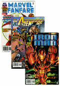 Modern Age (1980-Present):Miscellaneous, Marvel Modern Age Short Box Group (Marvel, 1990s) Condition: Average NM-....