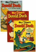 Golden Age (1938-1955):Cartoon Character, Four Color - Donald Duck Group (Dell, 1951-52).... (Total: 6 ComicBooks)