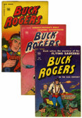 Golden Age (1938-1955):Science Fiction, Buck Rogers Group (Toby Publishing, 1951).... (Total: 3 ComicBooks)
