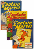 Golden Age (1938-1955):Superhero, Captain Marvel Adventures Group (Fawcett, 1943-46).... (Total: 18 Comic Books)