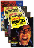 Magazines:Horror, Fantastic Monsters of the Films Group (Black Shield Publications, 1962-63) Condition: Average FN/VF.... (Total: 4 Comic Books)