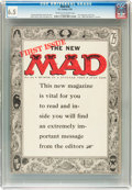 Magazines:Mad, Mad #24 (EC, 1955) CGC FN+ 6.5 Cream to off-white pages....