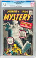 Silver Age (1956-1969):Horror, Journey Into Mystery #61 (Marvel, 1960) CGC VF- 7.5 Off-white towhite pages....