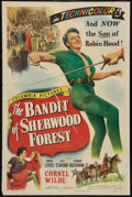 """Movie Posters:Adventure, The Bandit of Sherwood Forest (Columbia, 1946). One Sheet (27"""" X41"""") Style A. Adventure.. ..."""