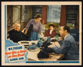 """Movie Posters:Comedy, Never Give a Sucker an Even Break (Universal, 1941). Lobby Card (11"""" X 14""""). Comedy.. ..."""