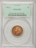 Proof Indian Cents: , 1872 1C PR64 Red and Brown PCGS. PCGS Population (114/73). NGC Census: (52/51). Mintage: 950. Numismedia Wsl. Price for pro...