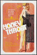 "Movie Posters:Adult, Honey Throat (Honey Bee, 1980). One Sheet (27"" X 41""). Adult.. ..."