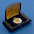 Timepieces:Pocket (post 1900), Waltham, 14k, Colonial With Original Box. ...