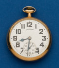 Timepieces:Pocket (post 1900), Illinois, 21 Jewel, 161A, Bunn Special. ...