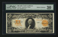 Large Size:Gold Certificates, Fr. 1187 $20 1922 Gold Certificate Star Note PMG Very Fine 30.. ...