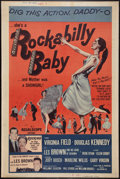 "Movie Posters:Rock and Roll, Rockabilly Baby (20th Century Fox, 1957). Poster (40"" X 60""). Rockand Roll.. ..."