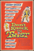 "Movie Posters:Rock and Roll, Don't Knock the Twist (Columbia, 1962). Poster (40"" X 60""). Rockand Roll.. ..."
