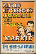 """Movie Posters:Hitchcock, Marnie (Universal, 1964). Poster (40"""" X 60""""). Hitchcock.. ..."""