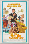 "Movie Posters:James Bond, The Man With the Golden Gun (United Artists, 1974). Poster (40"" X60""). James Bond.. ..."