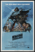 """Movie Posters:Science Fiction, The Empire Strikes Back (20th Century Fox, 1980). One Sheet (27"""" X41"""") Style B. Science Fiction. ..."""