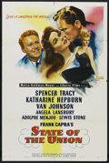 """Movie Posters:Drama, State of the Union (MGM, 1948). One Sheet (27"""" X 41""""). Drama. ..."""