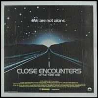 "Close Encounters of the Third Kind (Columbia, 1977). International Six Sheet (81"" X 81""). Science Fiction"